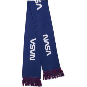 Mr. Tee NASA Scarf Knitted blue/red/wht