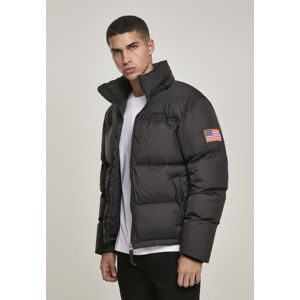 Mr. Tee NASA Two-Toned Puffer Jacket black