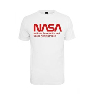 Mr. Tee NASA Wormlogo Tee white