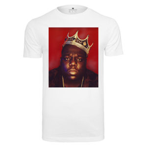 Mr. Tee Notorious Big Crown Tee white