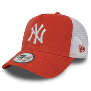 Kšiltovka New Era 9Forty A Frame Trucker Cap NY Yankees Micro Cord Orange