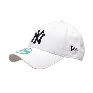 Kšiltovka New Era 9Forty MLB League Basic NY Yankees White Black