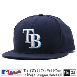 New Era Authentic Tampa Bay Rays