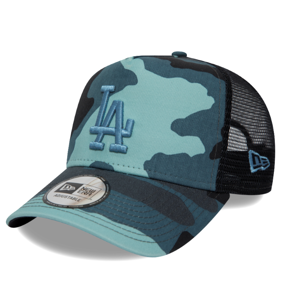 Kšiltovka New Era CAMO ESSENTIAL TRUCKER LOS ANGELES DODGERS