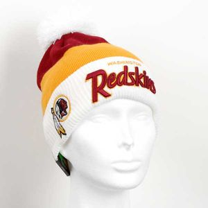 New Era EMEA Cuff Script Washington Redskins Winter Cap