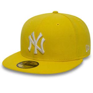 New Era MLB Basic NY Yankees Yellow White