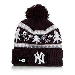 Dámská čapica New Era Team Snow Pine Bobble NY Yankees Navy