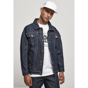 Southpole Script Denim Jacket raw indigo