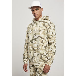 Southpole Square Embo Hoody sand camouflage