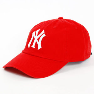Special Basic NY Dad Cap Red