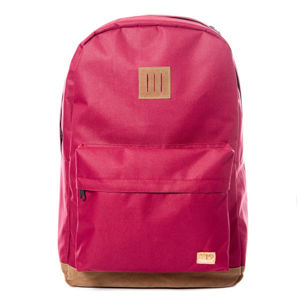 Spiral Classic Backpack bag Burgundy