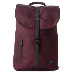 Spiral Tribeca Crosshatch Burgundy Backpack Bag