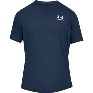Under Armour SPORTSTYLE ESSENTIAL TEE-NVY