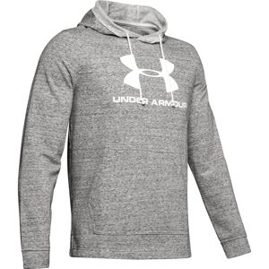 Under Armour SPORTSTYLE TERRY LOGO HOODIE-WHT