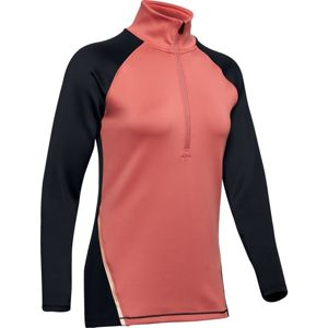 Under Armour UA CG Armour 1/2 Zip Color Block-PNK