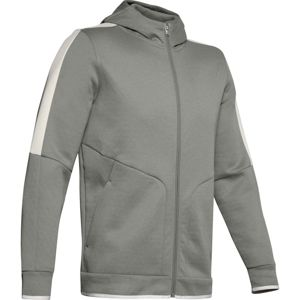 Under Armour Athlete Recovery Fleece Full Zip-GRN