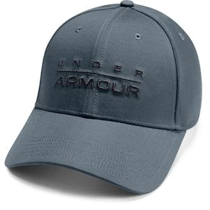 Under Armour Men's Wordmark STR Cap-GRY
