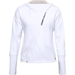 Under Armour Recover Fleece FZ Hoodie-WHT