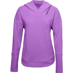 Under Armour Recover Fleece Hoodie-PPL