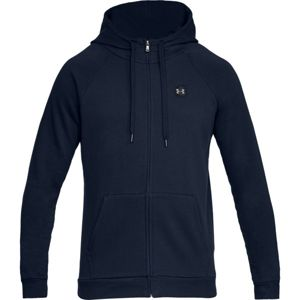 Under Armour RIVAL FLEECE FZ HOODIE-NVY