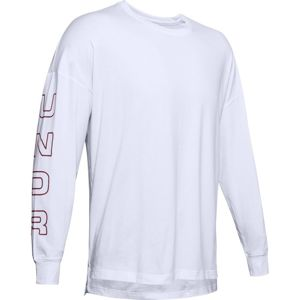Under Armour UA MOMENTS LS TEE-WHT