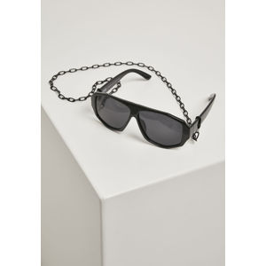 Urban Classics 101 Chain Sunglasses black/black