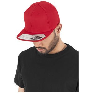 Urban Classics 110 Fitted Snapback red