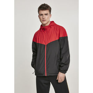 Urban Classics 2-Tone Tech Windrunner firered/blk