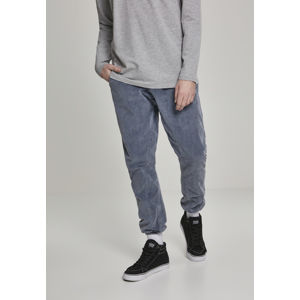 Urban Classics Acid Washed Corduroy Jog Pants indigo