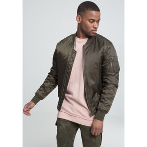 Urban Classics Basic Bomber Jacket darkolive
