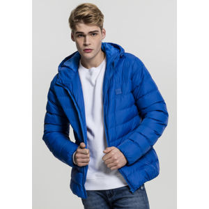 Pánská bunda Urban Classics Basic Bubble Jacket royal
