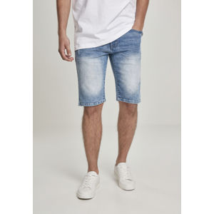 Urban Classics Basic Denim Shorts lt.sand blue