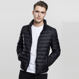Urban Classics Basic Down Jacket black