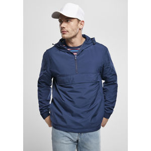 Urban Classics Basic Pull Over Jacket dark blue