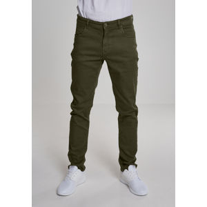 Urban Classics Basic Stretch Twill 5 Pocket olive