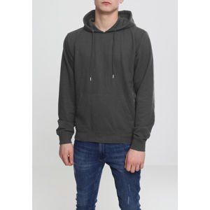 Urban Classics Basic Terry Hoody charcoal