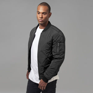 Urban Classics Big Diamond Quilt Bomber Jacket black