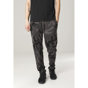 Urban Classics Camo Sweat Pants dark camo/blk
