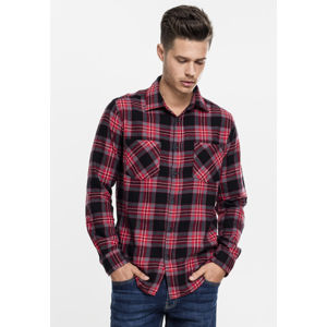 Urban Classics Checked Flanell Shirt 3 blk/gry/red