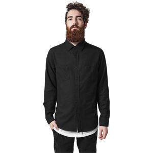 Urban Classics Checked Flanell Shirt blk/blk