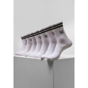 Urban Classics College Letter Socks 7-Pack white