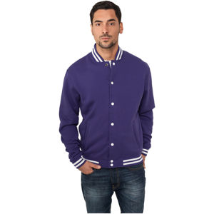 Urban Classics College Sweatjacket purple