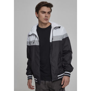 Urban Classics College Windrunner blk/wht/gry