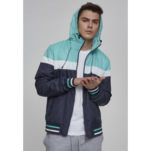 Urban Classics College Windrunner navy/mint/wht