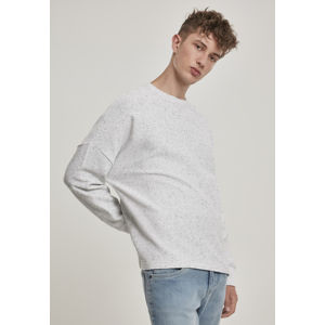 Urban Classics Cut On Sleeve Naps Interlock Crew lightgrey