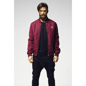 Urban Classics Diamond Quilt Nylon Jacket burgundy