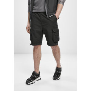 Urban Classics Double Pocket Cargo Shorts black