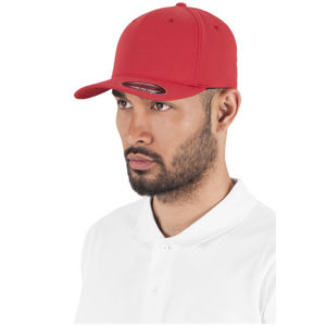 Urban Classics Flexfit 5 Panel red