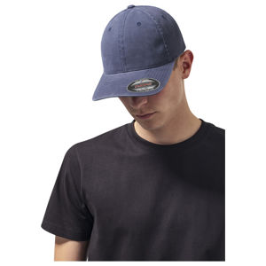 Urban Classics Flexfit Garment Washed Cotton Dad Hat navy