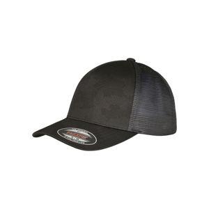 Urban Classics Flexfit Jaquard Camo Cap® black